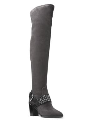 Brody Suede Over-the-Knee Boots by MICHAEL MICHAEL KORS