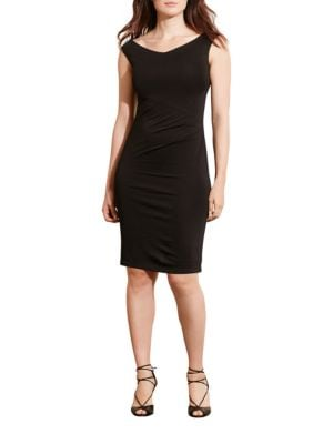 Plus Off-the-Shoulder Jersey Dress by Lauren Ralph Lauren