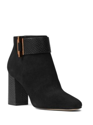 Buy Gloria Kid Suede Booties by MICHAEL MICHAEL KORS online