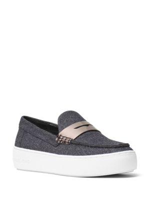 Poppy Flannel Slip-On Sneakers by MICHAEL MICHAEL KORS