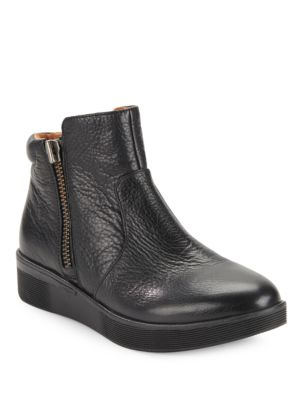 Harper Leather Booties by Matt Bernson