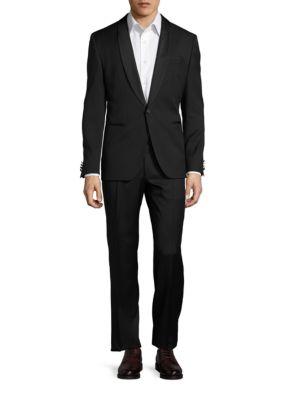 Satin-Trimmed Tuxedo Set by Hugo