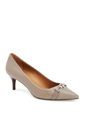 Buy Lauri Nappa and Calf Leather Pumps by COACH online