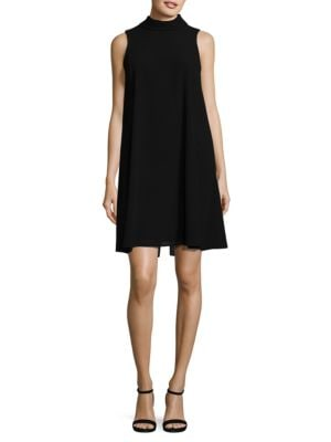 Sleeveless Mockneck Dress by Vince Camuto