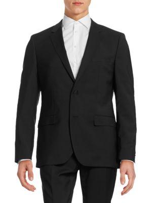 Virgin Wool Suit Jacket by Hugo