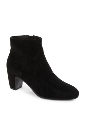 Piper Block Heel Suede Boots by Eileen Fisher