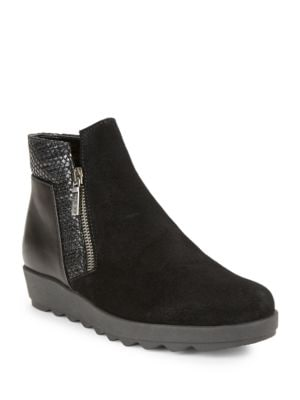 Buy Collaps Mixed Media Ankle Boots by The Flexx online