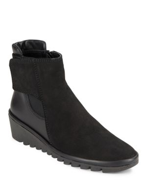 Buy Malificent Leather Ankle Boots by The Flexx online