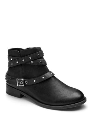 Lona Leather Ankle Boots by Vionic