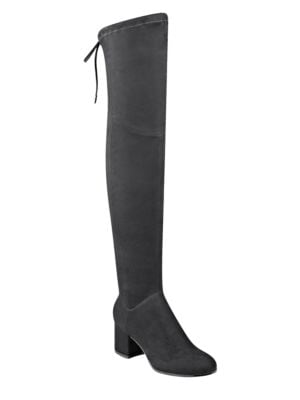 Kellyn Micro Suede Over-the-Knee Boots by Ivanka Trump