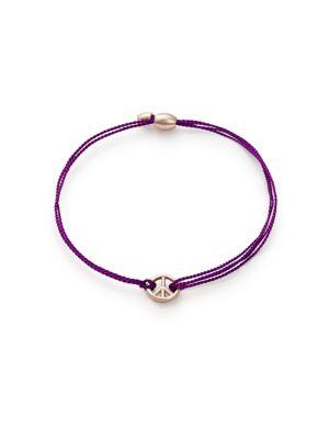 Amethyst Kindred Cord World Peace Bracelet 500046052379