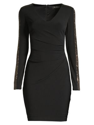 Studded Ruched Dress by Guess