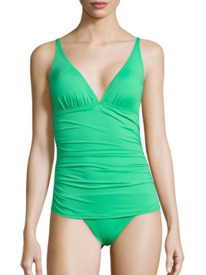 Pearl Ruched One-Piece Swimsuit by Tommy Bahama