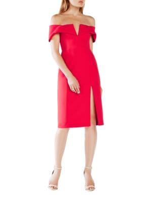 Marquis Off-The-Shoulder Dress 500046132254