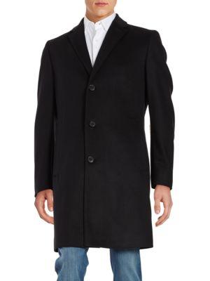 Stratus Wool-Blend Coat by Hugo