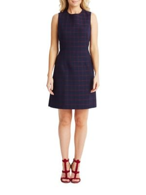 Sleeveless Fit-And-Flare Dress by Donna Morgan