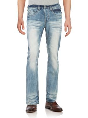 King Bootcut Jeans @...