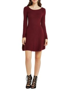 A-Line Sweater Dress by Calvin Klein