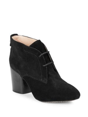 Dinah Suede Ankle Booties by French Connection
