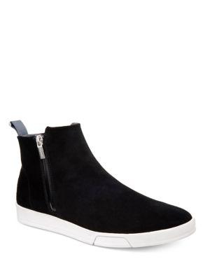 Barkley Oily Suede Sneakers by Calvin Klein