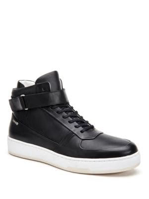 Navin Leather Sneakers by Calvin Klein