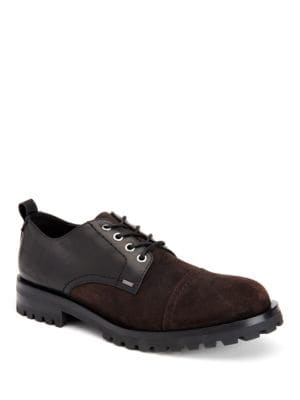 Nox Oily Suede Shoes by Calvin Klein