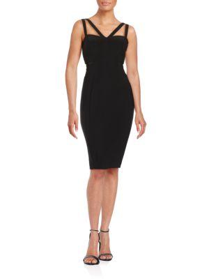 Bodycon Sleeveless Sheath Dress by Xscape