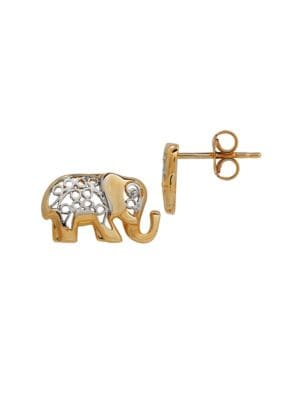 jewellery tiny silver elephant sterling stud earrings angel lisa