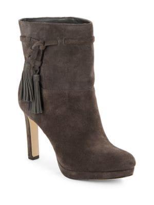 Buy Bristol Suede Platform Ankle Boot by Via Spiga online
