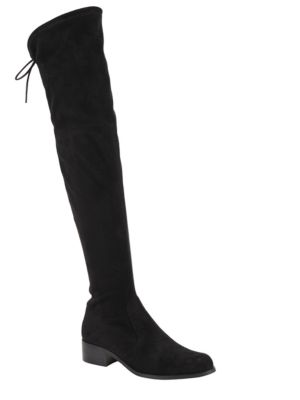 Gunter Microsuede Over The Knee Stretch Boots by Charles by Charles David