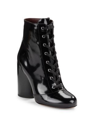 Tori Patent Leather Ankle Boots by Marc Jacobs