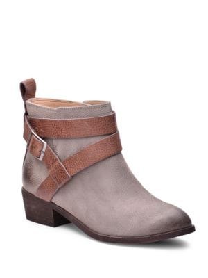 Holland Leather Belted Ankle Boots by Splendid