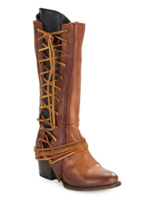 Cash Lace-Up Boots by Freebird By Steven