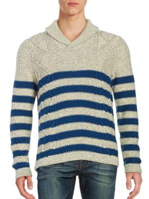 Shawl Collar Sweater by Nautica
