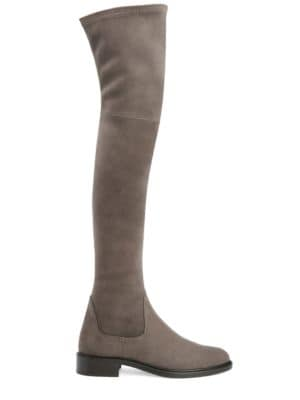 Gisele Suede Over-The-Knee Boots by Aquatalia