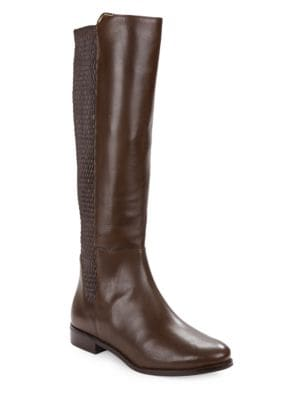 Rockland Leather Knee-High Boots by Cole Haan