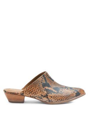 Buy Clover Calf Hair Mules by Matisse online