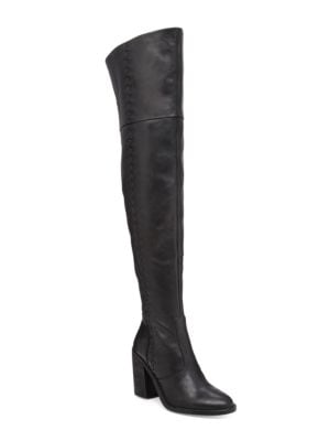 Morra Leather Riding Boots by Vince Camuto