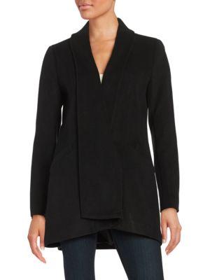 Shawl Collar Coat @...