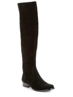 Yolanda Suede Boots by IMNYC Isaac Mizrahi