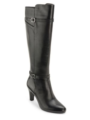Buy Sabeen Leather Dress Boots by Lauren Ralph Lauren online