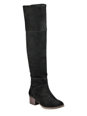 Gianna Leather Over-the-Knee Boots by Tommy Hilfiger