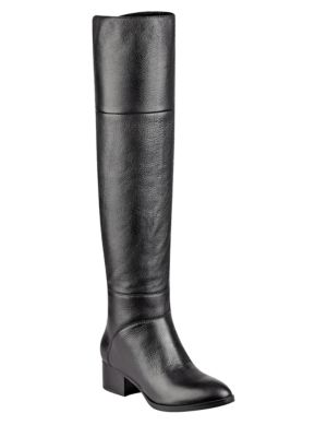 Buy Gianna Leather Over-the-Knee Boots by Tommy Hilfiger online