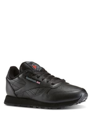 Lace-Up Leather Sneakers by Reebok
