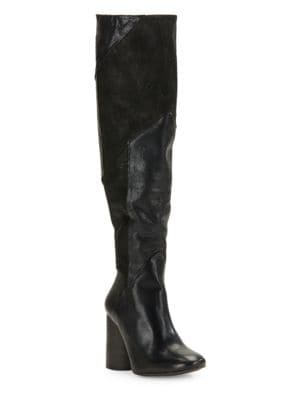 Bright Lights Leather Boots by Free People