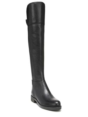 Christine Leather Over-The-Knee Boots by Franco Sarto