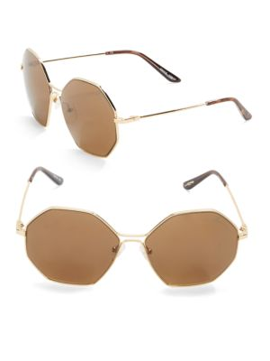 59mm Square Sunglasses by B Brian Atwood