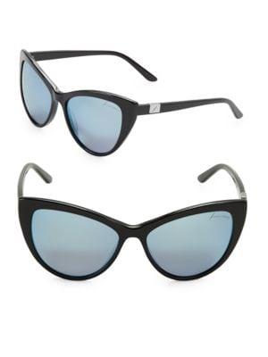 56mm Cats Eye Sunglasses...