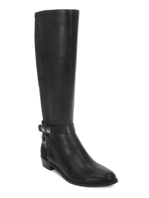 Rydell Leather Riding Boots by Tahari