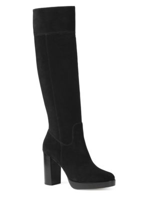 Regina Knee-High Suede Boots by MICHAEL MICHAEL KORS